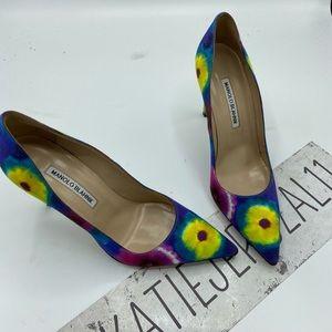 Manolo blahnik size 38.5 shoes 👑👑